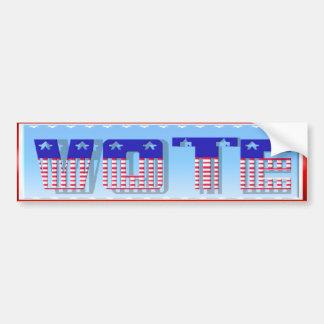 VOTE Bumper Sticker
