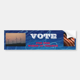 Vote Bumper Sticker Car Bumper Sticker