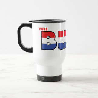 Vote Burr 2010 Elections Red White and Blue Mug