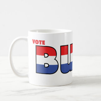 Vote Burr 2010 Elections Red White and Blue Coffee Mugs