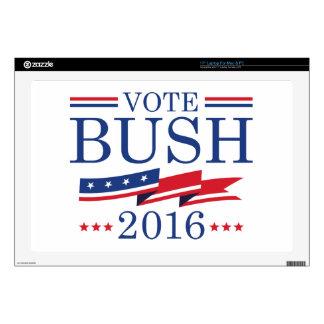 Vote Bush 2016 Laptop Decals
