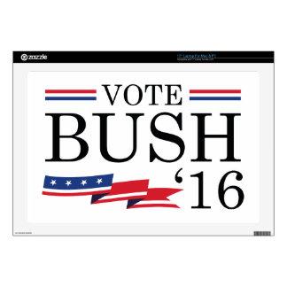 Vote Bush 2016 Laptop Skin