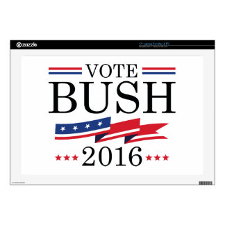 Vote Bush 2016 Laptop Skins
