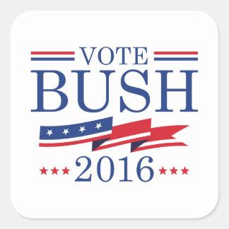 Vote Bush 2016 Square Sticker