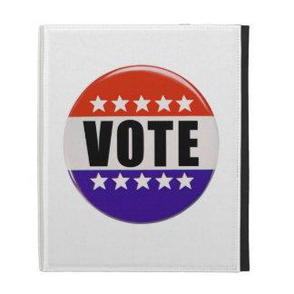 Vote Button iPad Cases