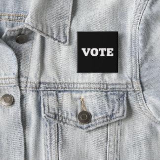 Vote Button on Black Background