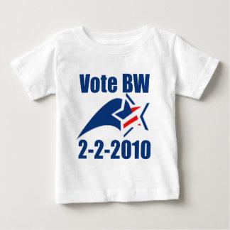vote-bw-2-2-2010 baby T-Shirt