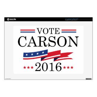 """Vote Carson 2016 Skins For 15"""" Laptops"""