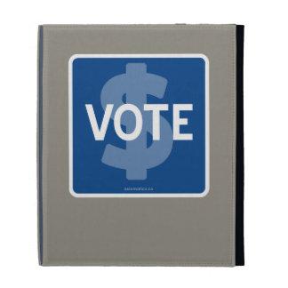 $ VOTE iPad FOLIO CASES