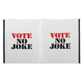Vote iPad Folio Cover