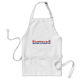 Vote Castaldo 2010 Elections Red White and Blue Adult Apron