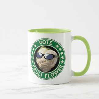 Vote Cauli Flower Mug