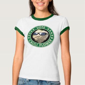 Vote Cauli Flower T-Shirt