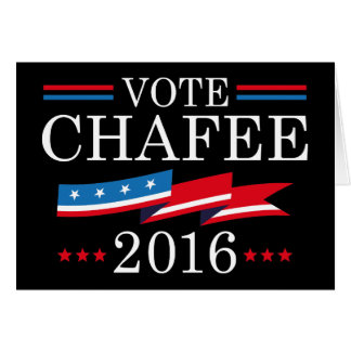 Vote Chafee 2016 Card