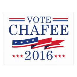 Vote Chafee 2016 Postcard