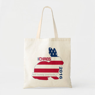 Vote Chaos Party 2016 Grocery Tote