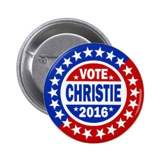 Vote Christie 2016 2 Inch Round Button