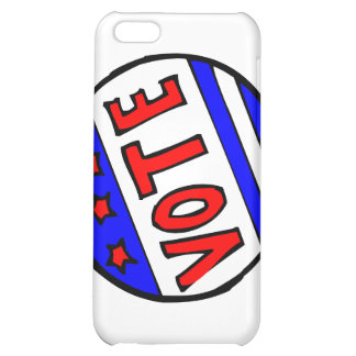 VOTE circle seal with stars and stripes red blue iPhone 5C Case