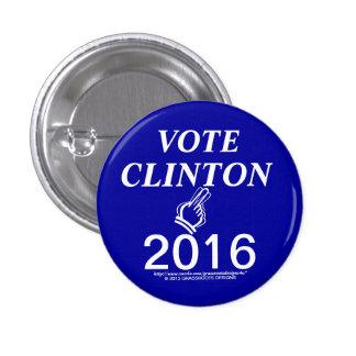VOTE CLINTON 2016 BUTTON