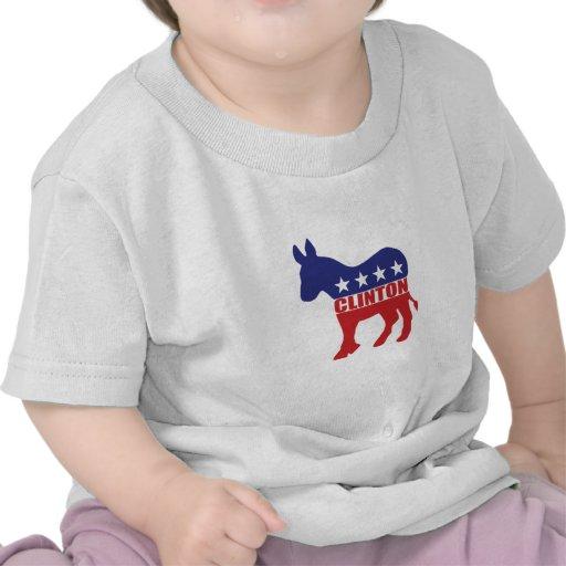 Vote Clinton Democrat Tee Shirt