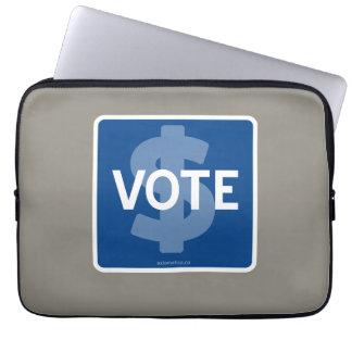 $ VOTE COMPUTER SLEEVE