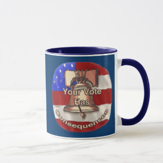 Vote Consequences Mug