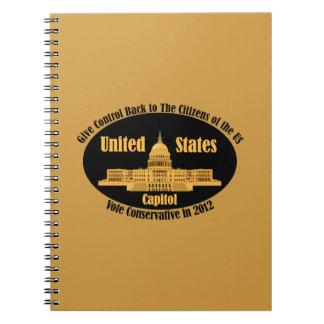 Vote Conservative Notebook