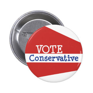 VOTE Conservative Pinback Button
