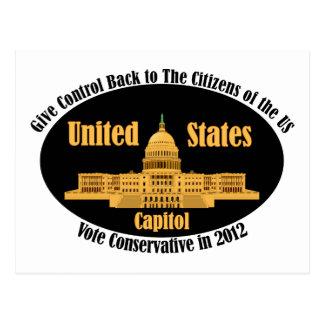 Vote Conservative Postcard