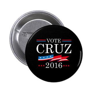 Vote Cruz 2016 Button