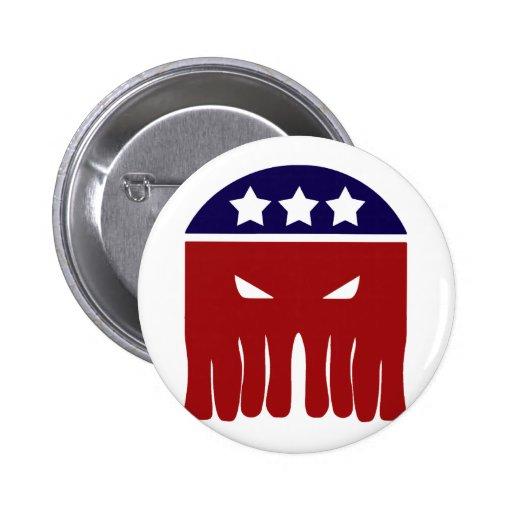 Vote Cthulhu 2 Inch Round Button