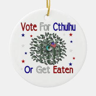 VOTE CTHULHU CERAMIC ORNAMENT
