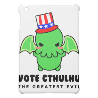 Vote Cthulhu for President iPad Case