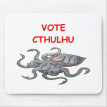 vote cthulhu mouse pad