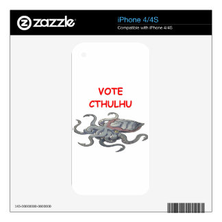 vote cthulhu decals for the iPhone 4