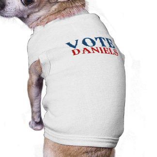 VOTE DANIELS 2012 PET T SHIRT