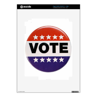 Vote! Decal For The iPad 2