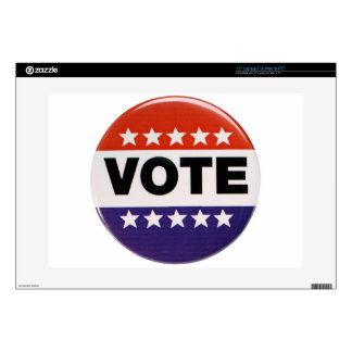 Vote! Decals For Laptops