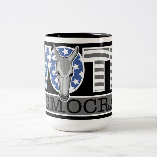 Vote Dem Symbol Mug