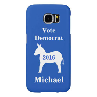 Vote Democrat 2016 Name Personalized Blue Samsung Galaxy S6 Case