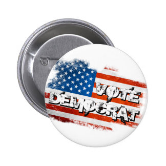 Vote Democrat 2 Inch Round Button