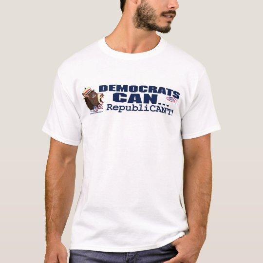 Vote Democrat Donkey Head Shirt