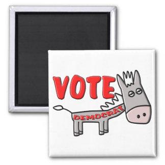VOTE DEMOCRAT (Donkey) Magnet