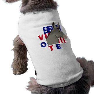 VOTE DEMOCRAT DONKEY TEE