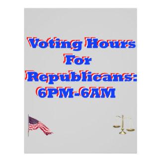 Vote Democrat Flyer