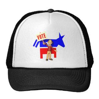 Vote Democrat Trucker Hats
