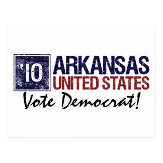 Vote Democrat in 2010 – Vintage Arkansas Postcard
