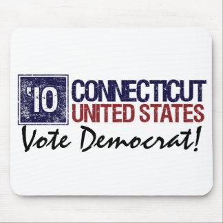 Vote Democrat in 2010 – Vintage Connecticut Mouse Pad