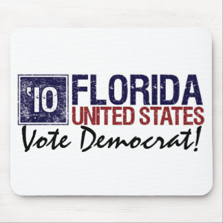 Vote Democrat in 2010 – Vintage Florida Mouse Pad