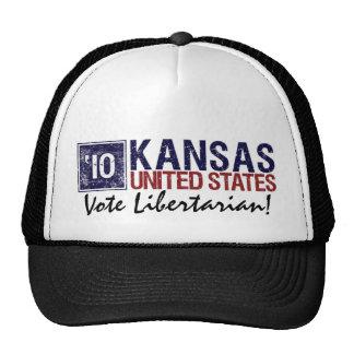 Vote Democrat in 2010 – Vintage Kansas Trucker Hat